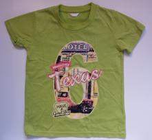 G121chlapecké triko s krátkým rukávem texas v.110, pepco,110