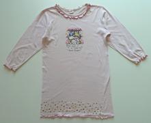 Obrázková noční košile s dlouhým rukávem vel. 140, 140