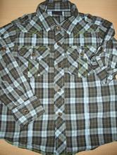 Štýlová károvaná košeľa next, next,104