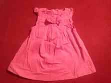 Dívčí šaty - šatičky mašlička, 74