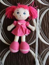 Hračky- zpívající látková panenka,