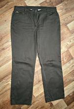 Hnědé dlouhé kalhoty, 44