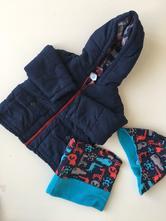 Zimní bunda + set teplé čepice s nákrčníkem, baby club,80
