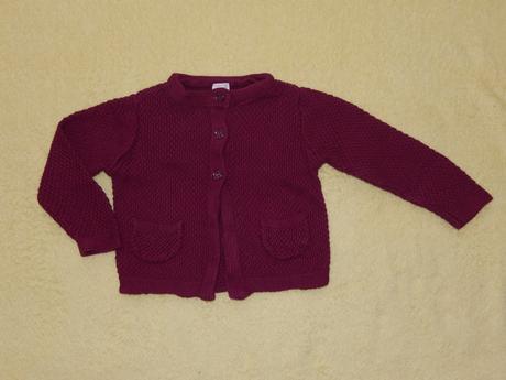 Tenký svetr/svetřík, baby club,74