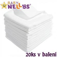 Kvalitní bavlněné pleny - tetra lux 80x80 - 20ks, new baby