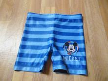 Kraťasy plavky mickey vel. 3-4, disney,104