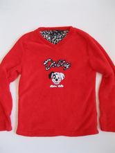 Flísové triko 11-12 let, disney,152