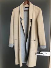 Marks spencer šedá béžov kardigan kabát jaro vel.s, marks & spencer,s