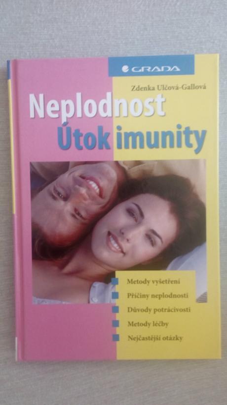 Kniha neplodnost - utok imunity,