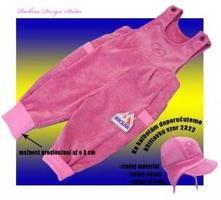 Dětské kalhoty s laclem rockino, 695_10920 , rockino,86 / 92 / 98