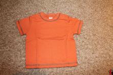D0188 oranžové tričko, c&a,80