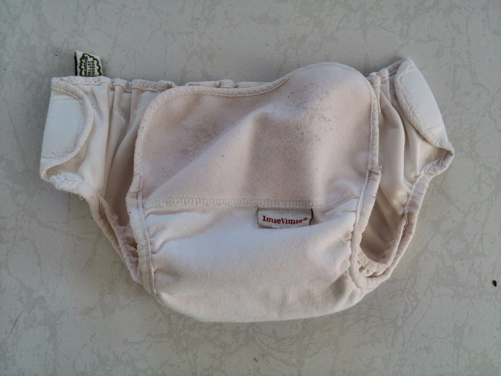 0f799ea6543 Svrchní kalhotky imse vimse organic s bílé