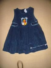Šaty s medvídkem pú-v.86/92, disney,92
