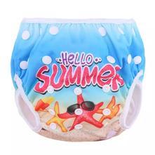 Roztoucí dětské plenkové plavky, 62 - 98
