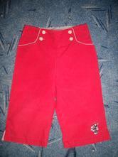 3/4 kalhoty plátěný -v.86/92/98, disney,92