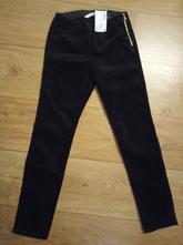 Nové černé kalhoty h&m vel.140, h&m,140