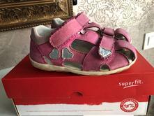 Sandále superfit srdíčka vel.27 růžová uzav.špičk, superfit,27