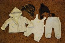 Novorozenecká zimní souprava vel. 50/56 (č.6),