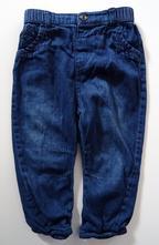 Měkké džíny podšité bavlnou, george,86