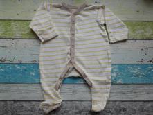 Bavlněný overálek - přetahovací rukávky, mothercare,62