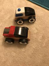 Dřevěná autíčka,