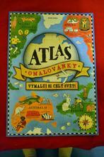 Velký atlas-omalovánky pro starší,