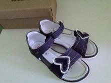 Kožené sandálky, lasocki,30