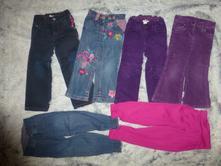 6krát džíny, kalhoty na holčičku, h&m,104