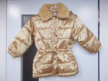 (20) zlatá zimní bunda, bhs,110