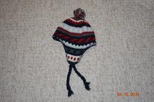 Chlapecká vzorovaná zimní čepice 3-6 let, h&m,104