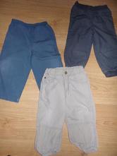 Plátěné kalhoty, h&m,86