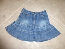 Riflová sukně, vel. 104, next,104