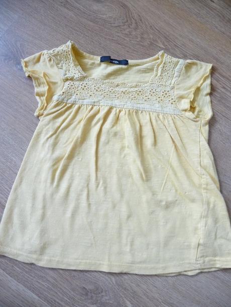 Žluté tričko - tunika, george,104