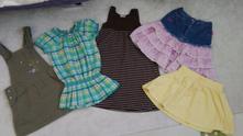 122/128 balík šaty, sukně barbie, halenka,