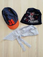 Čepice, kšiltovka, šátek, 80
