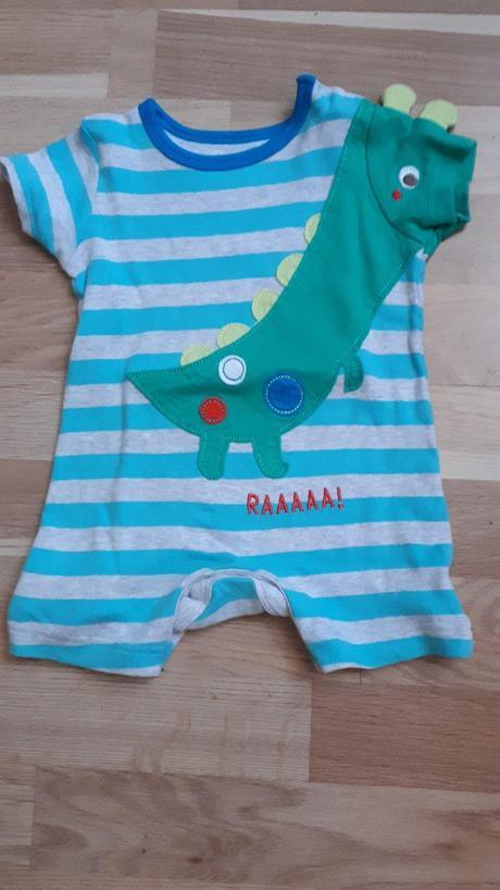 Letní overal s dinosaurem, mothercare,68