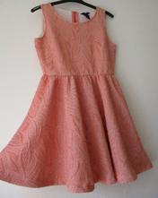 Dámské společenské slavnostní šaty pudrové h&m m, h&m,m
