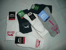 2x ponožky sportovní slazenger vel 25-31 modrá , slazenger,25 - 30