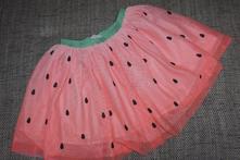Melounová tylová tutu sukně hm, 128/134, h&m,128