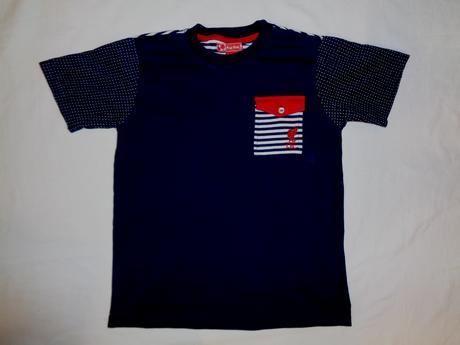 Luxusní modré tričko - elegantní, kids,128