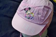 Kšiltovka/klobouček s minnie,disney,na zavazování, disney,74 - 104