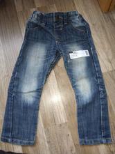 Frajerské chlapecké džíny vel. 98/104, f&f,104