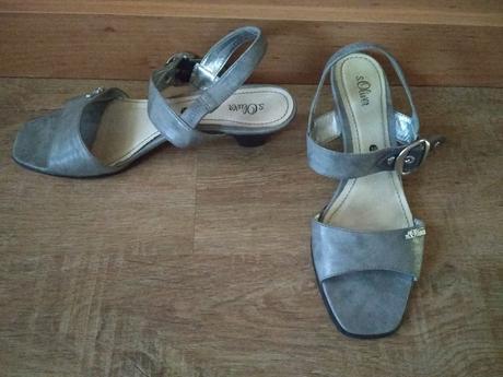 Sandále s'oliver vel. 39, na podpatku, s.oliver,39