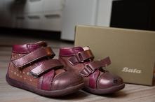 Celoroční kožené boty baťa, baťa,25