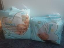 Pampers premium care plenky vel.1 a 2, pampers