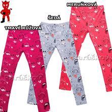 Bavlněné legíny pro holčičky,wolf 98-128, wolf,98 - 128