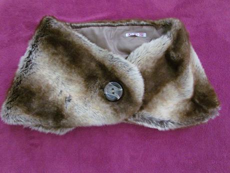 Límec z umělé kožešiny na kabát, 40