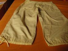 Dámské 3/4 kalhoty vel.38, denim,38