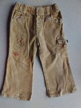 Manžestráky, kalhoty z manšestru, 98