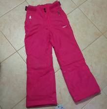 Růžové lyžařské kalhoty decathlon, decathlon,116